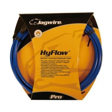 Набор гидролинии Jagwire Mountain Pro Hydraulic Hose Kit Sid, длина: 3000 см, синий, HBK404