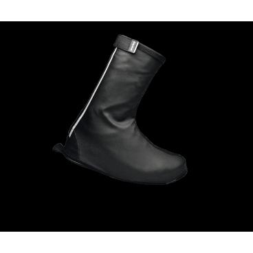 Велобахилы GripGrab DryFoot, черныеВелообувь<br>Велобахилы GripGrab DryFoot, черные.<br>Описание:<br> Бахилы изготовлены из ветро-и водонепроницаемого материала и, благодаря продуманной выкройке, защищают не только обувь, но и наиболее страдающую часть штанов. Подошва усилена кевларом, что значительно продлевает жизнь ваших любимых бахил. А благодаря эргономичному чехлу который поставляется в комплекте, хранение ваших бахил не доставит вам никаких хлопот. <br>Температурный режим: от 0°C и выше.<br><br>Особенности:<br>Совместимы с любыми ботинками<br>Водонепроницаемые<br>Защита от ветра<br>Светоотражающие полоски<br>Усиленная молния YKK<br>Регулируемая манжета<br>Чехол для хранения в комплекте<br>Размеры: M (40-41), L (42-43), XL (44-45), ХXL (46-47), ХХXL (48-49)<br><br>Уход: <br>Не стирать, используйте только влажную тряпку для очистки. Не использовать отбеливатель. Не сушить в стиральной машине. Не гладить. Не подвергать химической чистке. Не отжимать. <br><br>Материалы<br>100% полиэстер