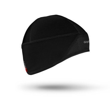 Шапка GripGrab Skull Cap Windster M, Black, 500101205