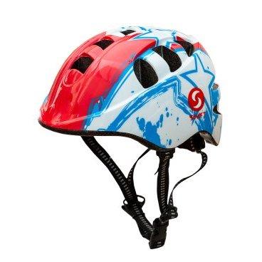 Велошлем детский SwiftBike, Белый, 48-52см.Велошлемы<br>Велошлем детский SwiftBike, белый.<br><br><br>Характеристики:<br>-Размер шлема можно легко отрегулировать при помощи ролика на затылочной части шлема. <br>-Сьемный мягкий поролон, внутри шлема, обеспечивает комфорт при эксплуатации и удобство при очистке.<br>-15 отверстий для вентиляции<br>-Размер 48-52 см<br>-Вес: 235 г.
