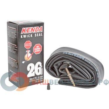 Камера для велосипеда KENDA 26х1.75-2.125 (47/57-559), антипрокольная, спорт ниппель, 5-518915