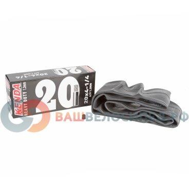 Камера KENDA 20, авто ниппель,  широкая усиленная толщина, стенки 1,3 мм, 5-514433Камеры для велосипеда<br>NEW, 20х4 1/4, широкая, ниппель авто, усиленная, толщина стенки 1,3мм, высокоэластичная бутиловая резина, инд. уп.