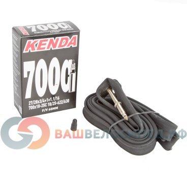 Камера для велосипеда KENDA 28(700х18/25C) узкая спортниппель, 60 мм  5-511491Камеры для велосипеда<br>Камера для велосипеда KENDA 28(700х18/25C) узкая спорт 60 мм <br>700х18-25С, ниппель спортивный 60 мм,  узкая, высокоэластичная бутиловая резина, индивидуальная упаковка<br>Артикул 5-511491