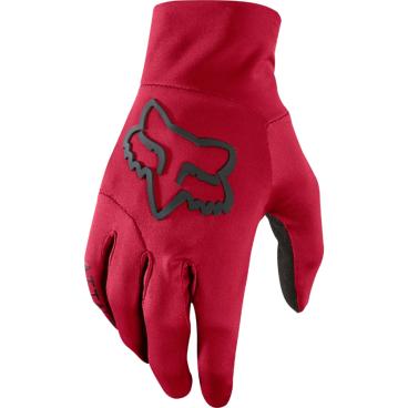 Велоперчатки Fox Attack Water Glove темно-красные