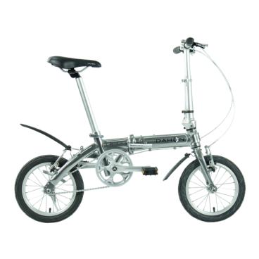 Складной велосипед Dahon Dove Uno 2017Cкладные<br>Складной велосипед Dahon Dove Uno 2017<br><br>Диаметр колёс, дюймов: 14<br><br>Количество скоростей: 1<br><br>Материал рамы: Алюминий<br><br>Размер рамы: Мультирама<br><br>Тип тормоза: V-Brake (клещевой)<br><br>Тип рамы: Складной<br><br>Разработка: США<br><br>Производство: Китай