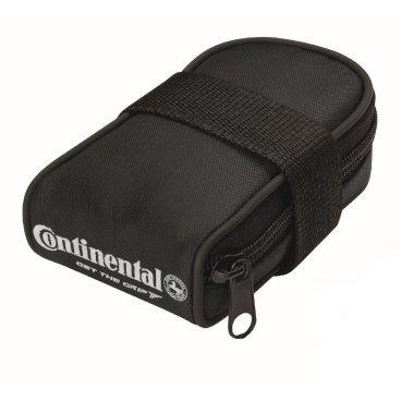 Велокамера Continentalbag 26 SV42 Presta, в комплекте чехол и 2 монтажки