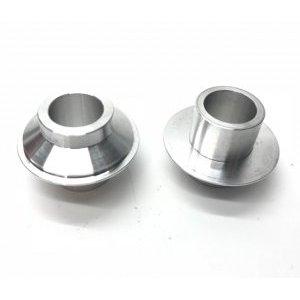 Адаптер для велосипедных втулок ColtBikes CUP, передний, диаметр 15 мм, серебристый, CBCFB29215-SLV