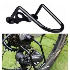 Защита заднего переключателя HORST, стальная, черная, крепление на заднюю ось, 00-170398Защита для велосипеда<br>Защита заднего переключателя HORST, стальная, черная, крепление на заднюю ось