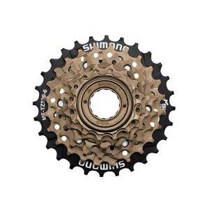Трещотка Shimano TZ500, 6 скоростей, 14-28T, 487 г, EMFTZ5006428Кассеты<br>Трещотка - Shimano MF-TZ500 Tourney MegaRange для велосипедов с трансмиссией на 6 передач. Имеет крепление на любую заднюю втулку с резьбой, устанавливается и снимается специальным велосипедным съёмником. Является лидером в сегменте бюджетных трещоток, благодаря долгому ресурсу и качественному переключению. <br><br>Диаметр резьбы 35 мм. <br>Тип звезд Трещотка <br>Звезды 14-28T <br>Вес 484 г<br>Дополнительно защита от спиц <br>Бренд Shimano <br>Кол-во скоростей 6