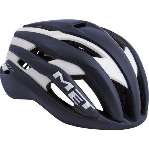 Велошлем Met Trenta, матовый сине-белый 2018Велошлемы<br>Новый шоссейный шлем от Met, созданный для профессионального использования. Стандартная модель Trenta весит чуть больше, чем версия 3k Carbon, но в остальном, это всё тот же высококачественный аэродинамичный шлем, позволяющий снизить сопротивление воздуха во время езды на 7%. Пенопластовый внутренник интегрирован в корпус из высокопрочного поликарбоната, что обеспечивает шлему компактность и низкий вес при хороших защитных свойствах. И, разумеется, данный шлем сертифицирован и отвечает всем требованиям стандарта безопасности CE.<br><br><br><br>ОСОБЕННОСТИ<br><br><br><br>Новый шоссейный шлем от Met, созданный для профессионального использования<br><br>Пенопластовый внутренник шлем интегрирован в корпус из высокопрочного поликарбоната<br><br>Удобная система застёжек Safe-T Orbital<br><br>Аэродинамичный профиль<br><br>Отвечает требованиям стандарта безопасности CE