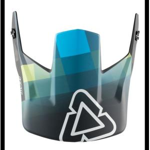Козырек к шлему Leatt DBX 5.0 Visor V28 Black/Teal M-XXL (4018900291)