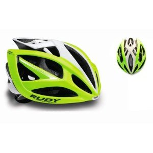 Каска Rudy Project AIRSTORM LIME FLUO/WHITE SHINY S-M