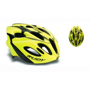 Каска Rudy Project SNUGGY YELLOW FLUO/BLACK SHINY L