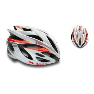 Каска Rudy Project RUSH WHITE-RED FLUO SHINY M