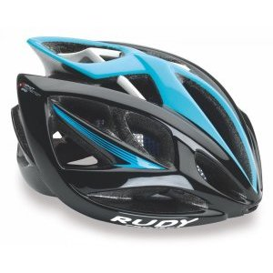 Каска Rudy Project AIRSTORM BLACK-BLUE SHINY S/M