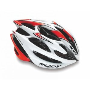 Велошлем Rudy Project STERLING MTB WHITE-RED FLUO SHINY L
