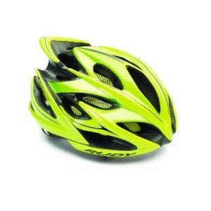 Велошлем Rudy Project WINDMAX YEL FLU/BLK SHINY L