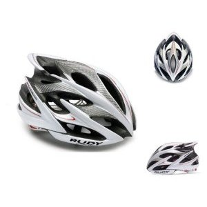 Велошлем Rudy Project WINDMAX WHITE/SILVER/RED SHINY S/M