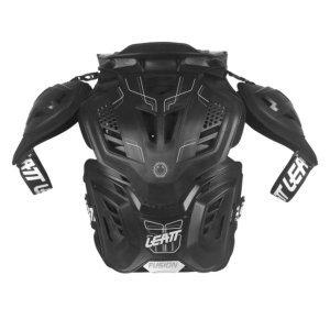 Защита панцирь+ шея Leatt Fusion Vest 3.0, черный 2017 фото