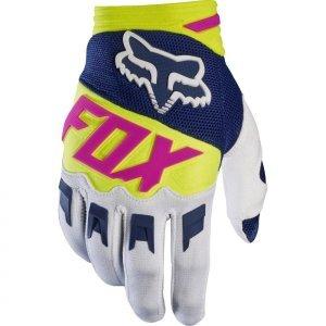 Велоперчатки Fox Dirtpaw Race Glove, сине-белый 2017Велоперчатки<br>Удобные высококачественные перчатки по отличной цене. Особенности обновлённой модели Dirtpaw - защитные накладки в нижней части ладони и на костяшках. Одним словом - оптимальный выбор для начинающих райдеров.<br><br>ОСОБЕННОСТИ<br><br>Материал: текстиль, искусственная кожа<br>Ладонь выполнена из тонкой искусственной кожи Clarino<br>Силиконовые накладки для лучшего сцепления с рулём<br>Защитные накладки на костяшках и в нижней части ладони<br>Удобная застёжка на крючке