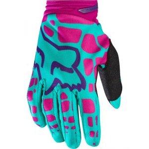 Велоперчатки женские Fox Dirtpaw Womens Glove, фиолетово-розовый 2017