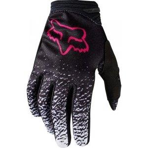 Велоперчатки женские Fox Dirtpaw Womens Glove, черно-розовый 2018