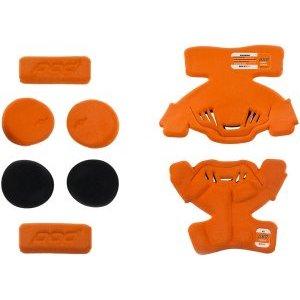 Вставки мягкие левого наколенника подросткового POD K1 YTH MX Pad Set Left, оранжевыйЗащита колена<br>Комплект мягких внутренних накладок для левого наколенника POD K1 Youth. Вставки быстро сохнут и выполнены из гипоаллергенного материала.