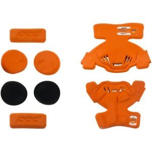 Вставки мягкие правого наколенника подросткового POD K1 YTH MX Pad Set Right, оранжевый