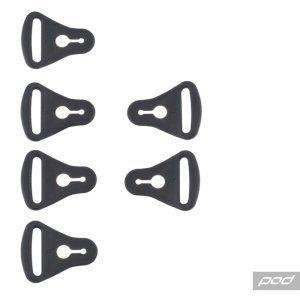 Застежки наколенников POD KX Strap Loop Set, KP340-001-NS фото