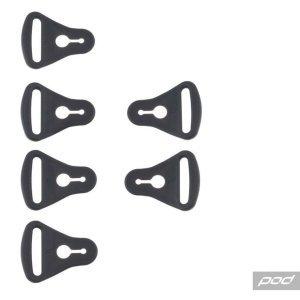 Застежки наколенников подростковых POD KX YTH Strap Loop Set, KP350-006-OS