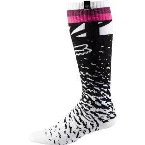 Носки женские Fox MX  Sock, женские, черно-розовый 2018