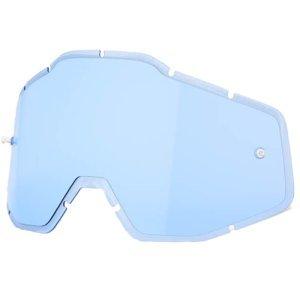 Линза 100% Racecraft/Accuri/Strata Anti-Fog Injected Blue, 51004-002-02 фото