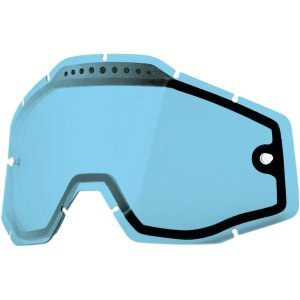 Линза 100% Racecraft/Accuri/Strata Vented Dual Pane Lens Anti-Fog Blue, 51006-002-02 фото