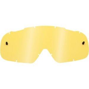 Линза Shift White Goggle Replacement Lens Standard Yellow, 21321-005-OSВелоочки<br>Сменная линза для маски Shift. Линза изготовлена из прозрачного поликарбоната и подходит для модели White.<br>Новая маска WHIT3 LABEL от Shift – это то, что вам нужно, и ничего лишнего. Причём, по такой цене, что мимо пройти просто нельзя. Инженеры Shift решили превзойти существующие стандарты бокового обзора - ведь с лучшим обзором вы будете лучше ездить. А чем лучше вы ездите, тем больше вы ездите. Кроме того, в новой маске используется трёхслойный поролон, который быстро сохнет и эффективно отводит лишнюю влагу от кожи. Кроме того, ширина резинки здесь составляет 45 мм потому что крутым парням сегодня нужны именно такие резинки. <br><br>ОСОБЕННОСТИ <br><br>Увеличенный размер для лучшего обзора снизу, сверху и по бокам <br>Тройной слой поролона с флисовой отделкой для дополнительного комфорта и влагоотвода <br>Линза из поликарбоната Lexan обеспечивает стопроцентную защиту от ультрафиолетового излучения. Кроме того, благодаря особой обработке она не запотевает и почти не царапается. <br>Дополнительный крепёж для отрывных лепестков на резинке <br>Резинка шириной 45мм с силиконовым покрытием для лучшего сцепления