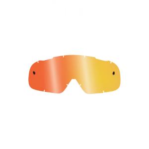 Линза подростковая Fox Air Space Youth Lens Spark Orange, 09955-009-OSВелоочки<br>Сменная линза для маски Air Space Youth от Fox. Изготовлена из прозрачного поликарбоната.Попытайтесь увидеть большую картинку с новой маской от Fox модели AIRSPC. Качественная вентиляция внутри рамки с повышенной на 30% эффективностью. Airspc поднимают понятия комфорта и удобства обзора на новый уровень! Для достижения таких выдающихся показателей инженерам Fox пришлось изрядно потрудиться. Однако в результате удалось значительно расширить поле бокового зрения, а также исключить усталось во время длительного ношения при помощи мягких накладок с внутренней стороны. Эти непревзойдённые очки идеальны для самых разнообразных условий и погодных причуд, т.к. практически исключают запотевание и дарят уверенность защиты, а также надёжную, фиксированную посадку в комбинации с вашим шлемом! Стрепы Airspс регулируются в широком диапазоне, позволяя создать точную, фиксированную и удобную индивидуальную посадку!