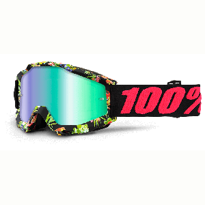 Велоочки 100% Accuri Chapter 11 / Mirror Green Lens, 50210-209-02