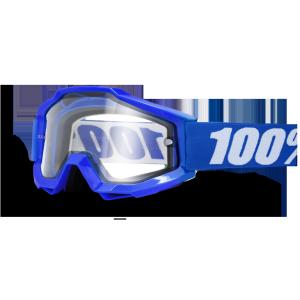 Велоочки 100% Accuri Enduro Reflex Blue / Clear Dual Lens, 50202-002-02Велоочки<br>Классическая велокроссовая маска лаконичного дизайна – Accuri стильно выглядит, хорошо вентилируется и обеспечивает отличный обзор. Благодаря силиконовой накладке, резинка будет надёжно держаться на шлеме. Двойная линза практически не подвержена запотеванию и отлично подходит для использвания в холодное время года. В комплекте – сверхпрозрачная линза и текстильный чехол. <br>Тонкая линза – то, что нужно когда необходимо оставаться сфокусированным на треке перед вами. Accuri позволяет полностью уделить внимание гонке. 100% дух соревнований. <br><br>ОСОБЕННОСТИ: <br>•В комплекте – сверхпрозрачная линза и текстильный чехол <br>•Устойчивое к запотеванию и антицарапающееся покрытие Lexan <br>• 45мм ремешок с силиконовым покрытием <br>• Идеальная кривизна для максимального комфорта <br>• Трехслойная пена для отвода влаги <br>• Гибкая но прочная оправа <br><br><br>•Цвет оправы: синий<br><br><br>•Цвет линзы: прозрачный