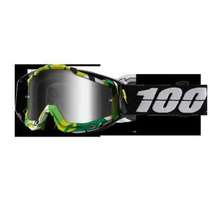 Велоочки 100% Racecraft Bootcamp / Mirror Silver Lens, 50110-194-02Велоочки<br>Верхняя модель линейки 100%, созданная для самых требовательных гонщиков – максимально лёгкая и удобная, обеспечивающая отличный обзор. Благодаря точнейшей инженерии, минималистичному дизайну и тщательно продуманным деталям эта маска отлично выглядит и выполняет свои функции на все 100 процентов. В комплекте – защита переносицы, комплект отрывных лепестков и текстильный чехол.<br><br>ОСОБЕННОСТИ <br>•Тройной слой пеноматериала<br>•Специальное покрытие Anti-fog для отличного обзора в любую погоду<br>•Запатентованная система воздушных каналов в пеноматериале, помогающая отводить влагу<br>•Съёмная защита  носа<br>•   Цвет оправы/резинки:Черный<br>•   Цвет линзы: зеркальный серебрянный