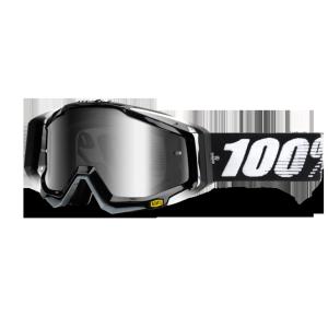 Велоочки 100% Racecraft Abyss Black / Mirror Silver Lens, 50110-001-02Велоочки<br>100% Racecraft.  Слияние точнейшей инженерии и минималистического дизайна, обеспечивает приятное использование и внешний вид маски<br>ОСОБЕННОСТИ <br>•Тройной слой пеноматериала<br>•Специальное покрытие Anti-fog для отличного обзора в любую погоду<br>•Запатентованная система воздушных каналов в пеноматериале, помогающая отводить влагу<br>•Съёмная защита  носа<br>•   Цвет оправы/резинки:Черный<br>•   Цвет линзы: зеркальный серебрянный