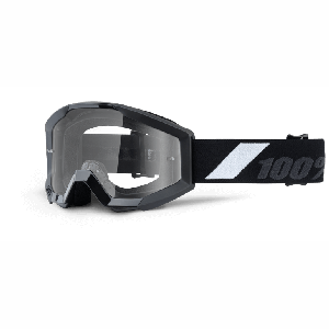 Велоочки подростковые 100% Strata JR Goliath / Clear Lens, 50500-166-02Велоочки<br>Strata - бюджетная модель с отнюдь не бюджетными характеристиками – в некотором смысле, это новый стандарт для масок за такую цену. Маска обеспечивает хороший обзор и оптимальную вентиляцию; поролоновая окантовка плотно прилегает к лицу, а резинка будет надёжно держаться на шлеме благодаря силиконовой накладке.<br> Strata обеспечивают исключительную производительность и комфорт. Strata  - премиум качество за приемлемую цену<br>Особенности:<br>•Идеальная кривизна для максимального комфорта <br>•двухслойная пена для отвода влаги<br>•Изготовлены из гибкого, но прочного материалаа с матовой и глянцевой отделкой<br>•Прозрачная линза Lexan® с защитой от запотевания, устойчивая к царапинам<br>•40-миллиметровый ремешок с силиконовым покрытием<br>•   Цвет оправы/резинки: черный<br>•   Цвет линзы: прозрачный<br>•   В комплекте - текстильный чехол