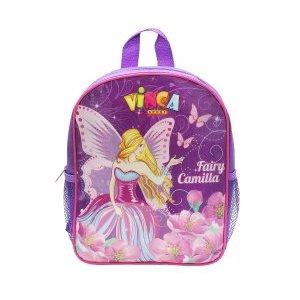 Рюкзачок детский фея, 270*210*65ммВелорюкзаки<br>Рюкзачок детский фея<br>Рюкзачки отличаются ярким неповторимым дизайном, качественными безопасными материалами, практичностью.<br>На прогулку, в парк, детский сад, - детский рюкзак для мальчика станет незаменимым аксессуаром.<br>Он легкий, яркий, стильный, практичный, не требует особого ухода и обладает достаточным объемом, чтобы вместить все ценные вещи ребенка.<br>Материал: 420 D полиэ?стер<br>Цвет: фиолетовый<br>Рюкзак крепится на руль двумя ремешками на липучках, плечевые лямки легко отстёгиваются и прячутся в карман.<br>Характеристики<br>Наличие внешних кармановДве боковые сетки<br>Один внутренний карман<br>Размеры: 270*210*65мм