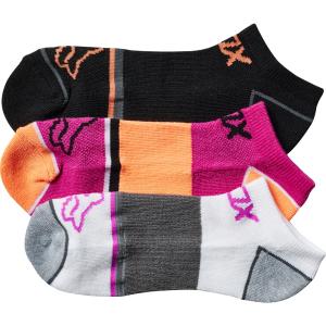 Носки женские Fox Perf No Show Socks, 3 пары, Berry Punch 2017