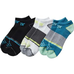 Носки женские Fox Perf No Show Socks 3 пары Jade 2017