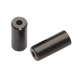 Наконечник рубашки Jagwire End Cap Open, 4 мм Brass, [50], черный, BOT115-4H