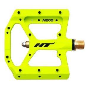 Педали велосипедные HT ME05, неоновый желтый, ME05303101 фото