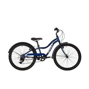 Подростковый велосипед Dewolf SAND 250 24 2018Подростковые<br>Велосипед, предназначенный для детей в возрасте от восьми до тринадцати лет, с оборудованием начального класса Shimano, 7 скоростей. Технические особенности: легкая алюминиевая рама, жесткая вилка Rigid Steel, двойные алюминиевые обода Alloy ED, надежные ободные тормоза V-brake, защита цепи, длинные крылья, подножка. Подходит для прогулочного катания в городских условиях. Диаметр колес - 24 дюйма. Вес - 13,5 кг.<br><br>ПроизводительDewolf<br>Модельный год2018<br>МодельSand 250<br>Материал рамыАлюминий<br>Количество скоростей7<br>Диаметр колёс24<br>Под рост ребёнкаНе задан<br>Тип рамыУниверсальный<br>Тип тормозовОбодные<br>Фюзеляж<br>РамаОблегченная, алюминиевый сплав 6061<br>Амортизационная вилкаСтальная<br>ТормозаV-brake<br>Тормозные роторыОтсутствуют<br>Трансмиссия<br>МанеткиShimano SL-RS35<br>Система шатуновProwheel PRO-Q36 38T<br>КареткаVP-BC73<br>Задний переключательShimano Tourney RD-TX35<br>КассетаShimano Tourney MF-TZ21, 14-28T<br>ЦепьKMC Z51<br>Колёса<br>Обода24x1.50, 4Gx36H, H=15.2мм, алюминиевые<br>Передняя втулкаJoytech, 3/8x100x140, 14Gx36H, стальная<br>Задняя втулкаJoytech, 3/8x130x178, 14Gx36H, стальная<br>СпицыСтальные<br>ПокрышкиKenda K1052 24x1.95<br>Кокпит<br>РульАлюминиевый 25.4, ширина 600мм<br>ВыносАлюминиевый, 25.4x80мм, 25 градусов<br>СедлоVader VD813A-07<br>Подседельный штырь27.2x250Lx1.4T, стальной<br>ПедалиVP-530