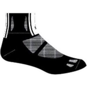 Велоноски Elite socks, облегченные, анатомические, черно-серыеВелоноски<br>Велоноски для спорта и отдыха<br>Укрепления в области носка и пятки для дополнительного комфорта<br>Черно-серые<br><br>Размер L (43-47)<br>Размер M (39-42)