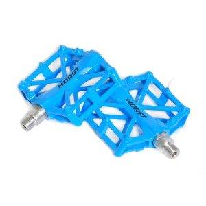 Педали BMX алюминиевые H32 HORST, литые, широкие, с шипами, 92х95х15мм 388г/пара, синий, 00-170834Педали для велосипедов<br>Педали BMX алюминиевые<br>H32 HORST<br>литые, широкие, с шипами, 92х95х15мм 388г/пара, резьба 9/16, синие, инд. уп.