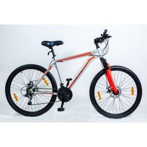 Горный велосипед HORST Jager 26 2018Горные (MTB)<br>Горный велосипед HORST JAGER на 26-дюймовых колесах подойдет всем тем, кто хочет покорять новые дороги и вершины. Как настоящий ягуар, HORST JAGER готов пробраться где угодно. Прочная стальная рама, амортизационная вилка, 21 скорость, дисковые тормоза и классические 26-дюймовые колеса с широкими покрышками – вот черты настоящего вездехода. По соотношению цена/качество HORST JAGER является одним из лучших велосипедов с дисковыми тормозами на рынке в 2018 году. Из дополнительного оборудования велосипед HORST JAGER укомплектован подножкой.<br><br>Рама, подвеска<br>РамаСтальная (hi-ten), колеса 26<br>Размеры17, 19<br>ВилкаHorst 790, амортизационная<br>РулеваяJingye, 1-1/8<br>Трансмиссия<br>Количество<br>передач21<br>МанеткиShimano Tourney ST-EF41, триггерные<br>Передний<br>переключательShimano TZ30<br>Задний<br>переключательShimano TY21<br>Система42-34-24 зубьев, 170 мм шатуны<br>КареткаNeco B910, картридж<br>КассетаShunfeng, 14-28 зубьев, 7 звезд<br>ЦепьKMC Z33<br>Тормоза<br>ТормозаRepute DSC-510, механические дисковые<br>Тормозные<br>ручкиShimano Tourney<br>Колеса<br>ВтулкиShunfeng, 36 отверстий<br>Ободадвойные обода, 36 отверстий, алюминиевые<br>Спицыстальные<br>ПокрышкиWanda 26x2.125<br>Другие характеристики<br>ПедалиFeimin, пластмассовые<br>РульHorst, ширина 620 мм, стальной<br>Ручки руляРезиновые<br>ВыносHorst, стальной<br>Подседельный<br>штырьHorst, 25.4x350 мм, стальной<br>СедлоHorst