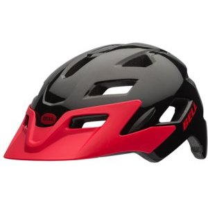 Шлем детский Bell 17 SIDETRACK, матовый черно-красный